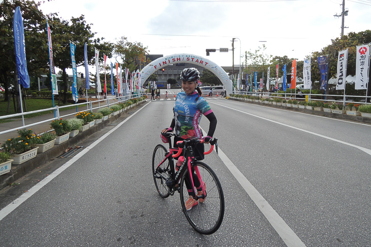チャレンジサイクリング100km無事ゴール!