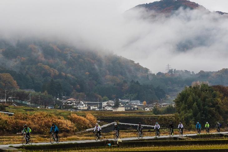 甲府盆地の北西部 北杜市や韮崎市を舞台とした白州・韮崎ステージ