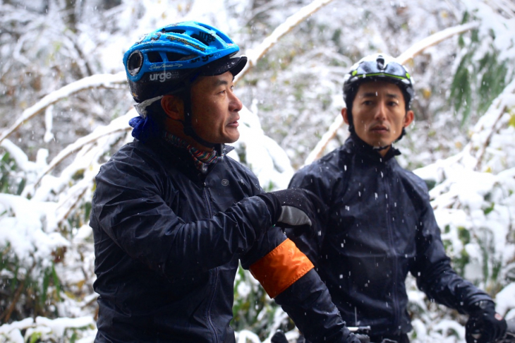 自然と上手く付き合うために、自転車乗りが守ること。それを三上さんに教えてもらう