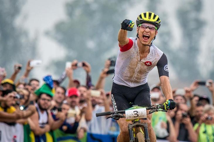 リオオリンピックで金メダルを獲得したニノ・シューター(スイス)