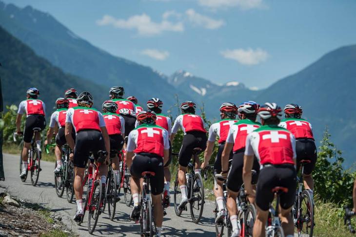 アソスと長年協力関係にあるスイスナショナルチーム