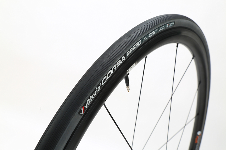 Road Clincher TLR Tubeless Ready Tire 700x23c 320TPI Vittoria Corsa Speed  G
