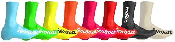 ベロトーゼ シューズカバー(ブルー、グリーン、イエロー、オレンジ、ピンク、レッド、ブラック、ホワイト)