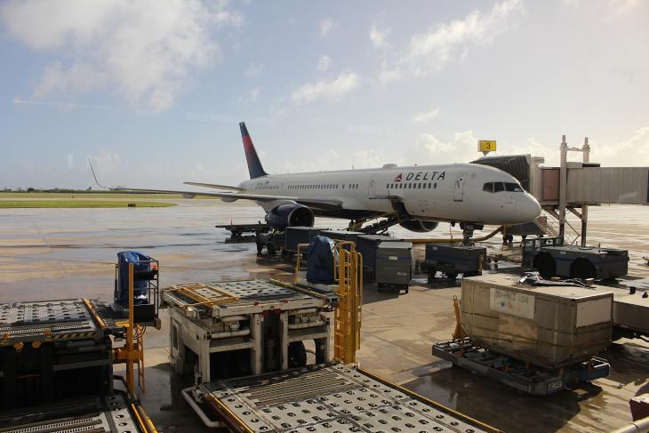 帰りもデルタ航空にて3時間半のフライトだ