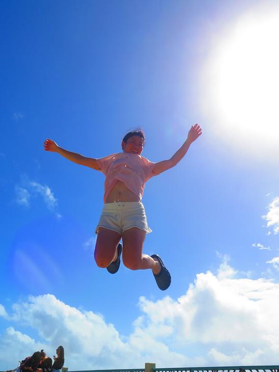「サイパンの空へ2」練習のつもりで飛んだのに撮られてしまったやつ