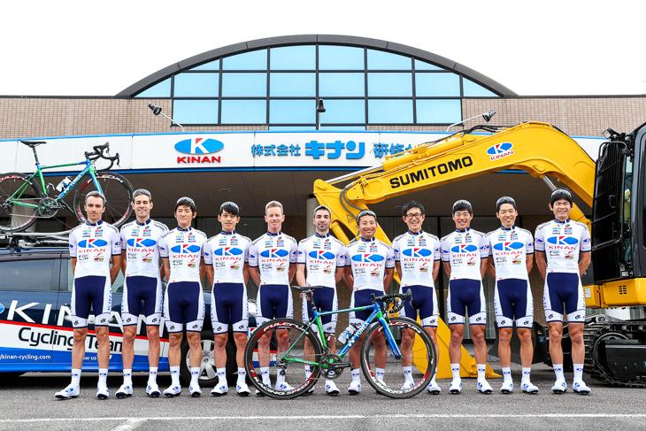 IRCタイヤを使うキナンサイクリングチーム