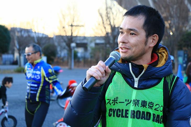 主催の東京ヴェントスの二戸代表