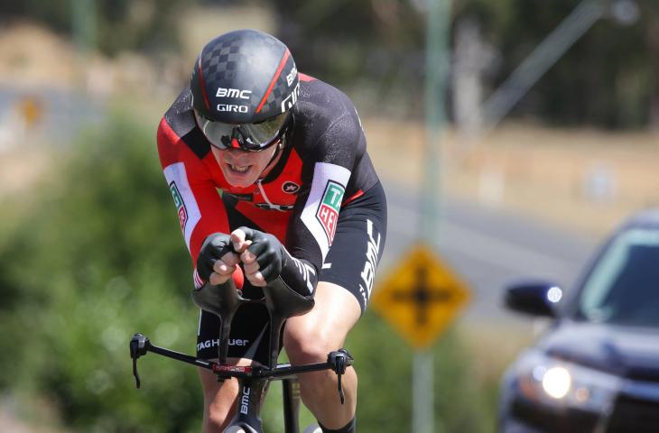 エリート男子個人TT 連覇を果たしたローハン・デニス(BMCレーシング)
