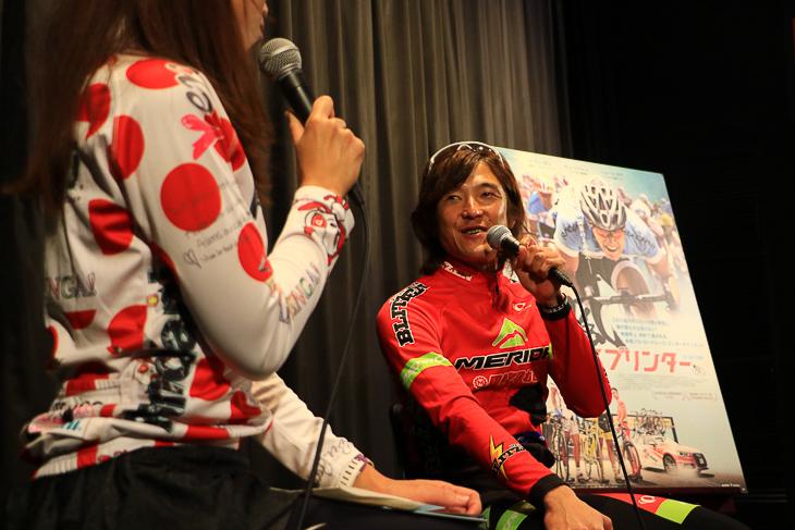「選手たちの心情がうまく描かれていて感情移入してしまった」と鈴木真理選手