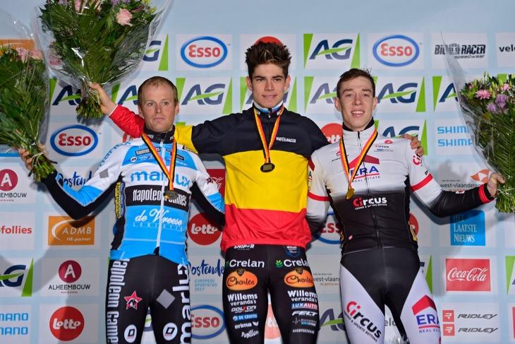 ベルギー:世界選手権とのダブルタイトルを守ったワウト・ファンアールト(ヴェランダスヴィレムス・クレラン)
