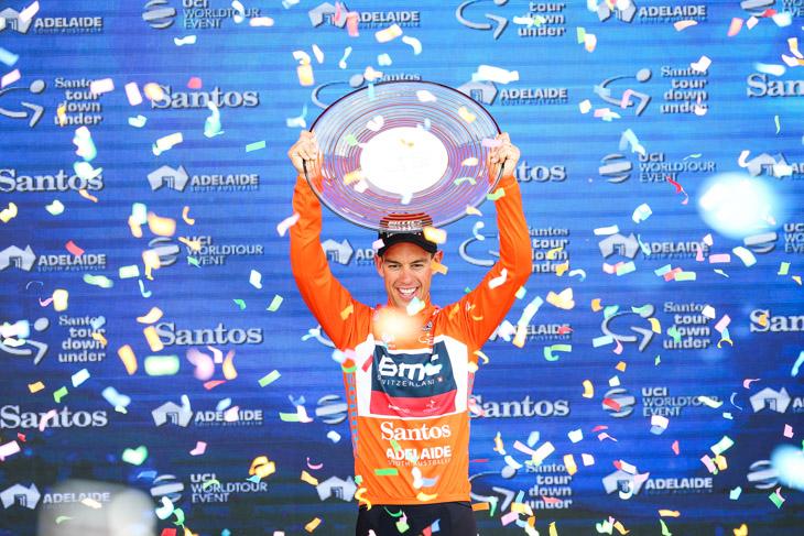 初総合優勝に輝いたリッチー・ポート(オーストラリア、BMCレーシング)