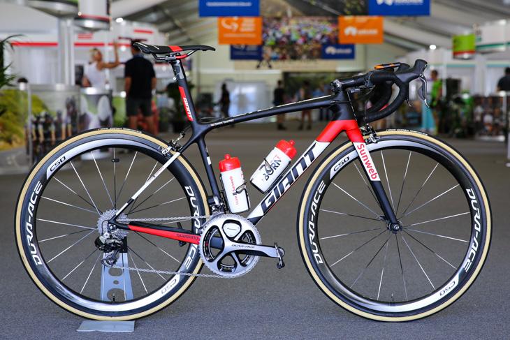 サンウェブ ジャイアント TCR Advanced SL: photo:Kei Tsuji