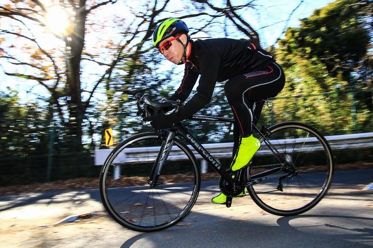 「振動吸収性が高くロングライド向けのエンデュランスバイク」遠藤健太(サイクルワークス Fin's)