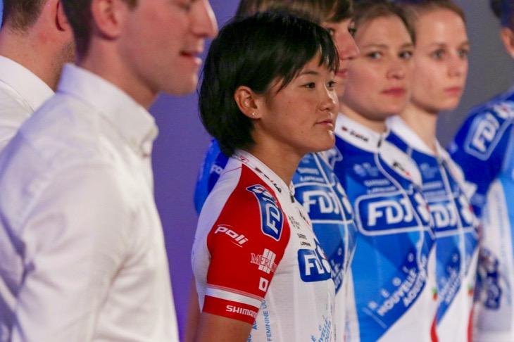 全日本チャンピオンジャージでチームプレゼンテーションに臨む