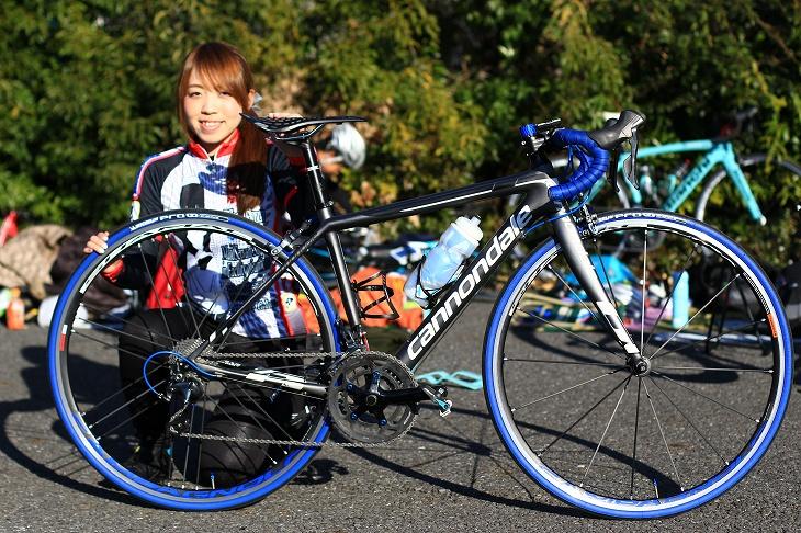 うみさん(メイドさん学科自転車部)のキャノンデール SUPER SIX EVO