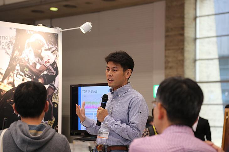 中田尚志コーチによる、セミナーの様子