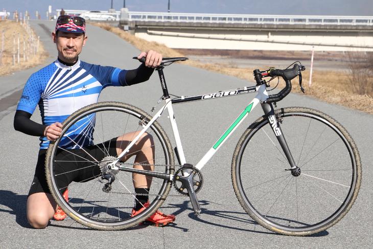 鈴木威範さん(半田自転車競技部CX)のシエロ CX Racer
