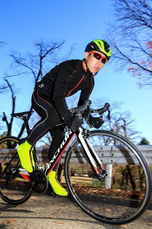 「日本人に合った高性能レーシングバイク」遠藤健太(サイクルワークス Fin's)