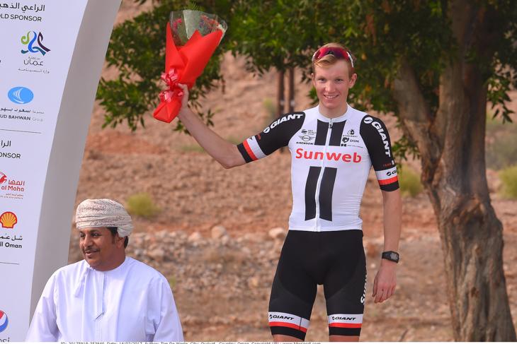 プロ初勝利を飾ったソーレンクラーク・アンデルセン(デンマーク、サンウェブ)