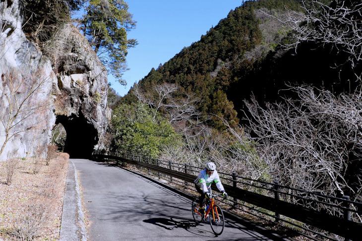 浮世絵のような風情を後にして、サイクリングは続きます