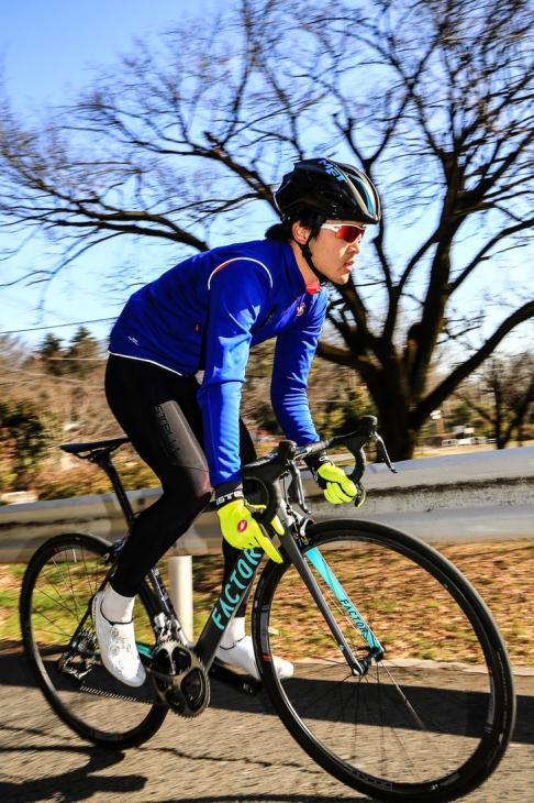 「軽量バイク特有の不安感がなく、安定した走りを楽しめる」若生正剛(なるしまフレンド)