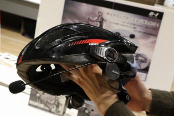 """自転車用Bluetoothインカム""""サイカム B-1"""""""