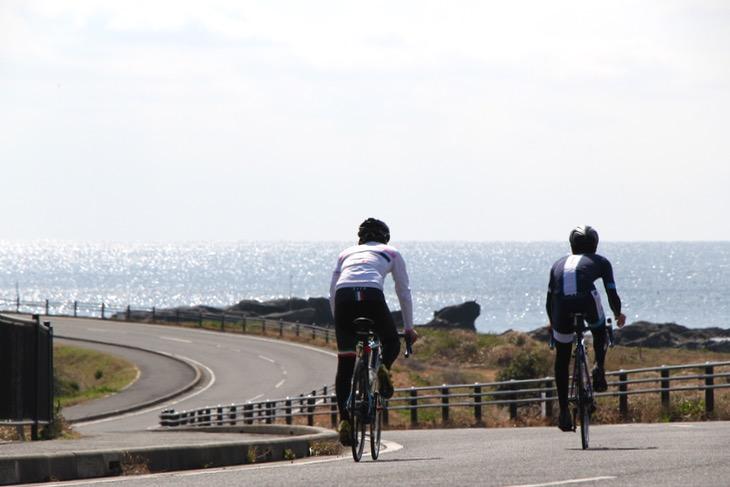 自転車カタログなどにも使えそうなほど魅力ある写真が撮れるロケーションが多々ある