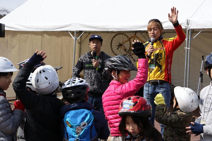 ウィーラースクールによる子供自転車教室