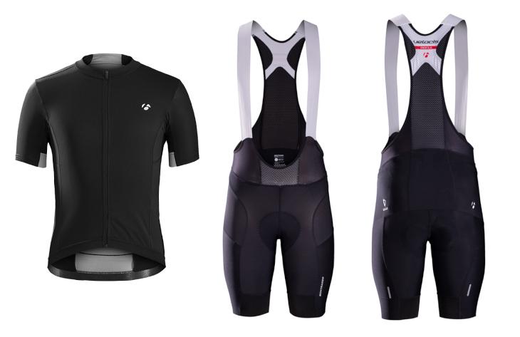 ボントレガー Velocis Jersey、Bib Short(Black)