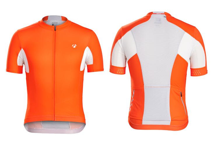 ボントレガー Velocis Jersey、Bib Short(Tomato Orange)