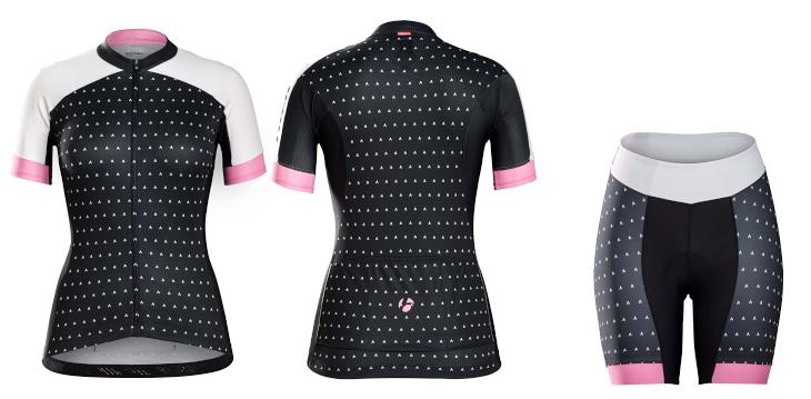 ボントレガー Anara Womens Jersey、Short(Prim Pink)