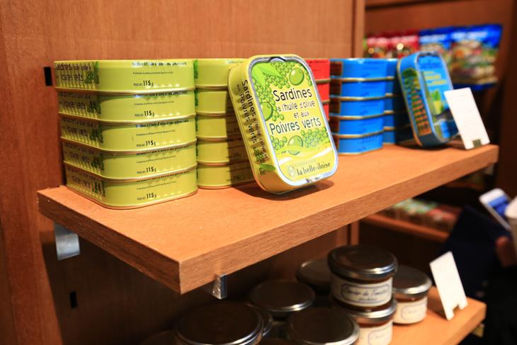フランスで人気のサーディンの缶詰