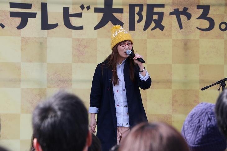 ステージでは様々なアーティストのライブなどが行われた