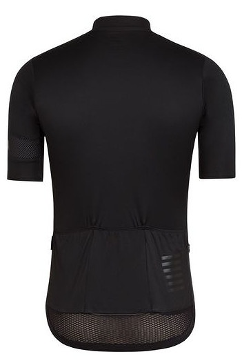 Rapha Pro Team Flyweight Jersey背面(ブラック)