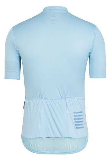 Rapha Pro Team Flyweight Jersey背面(ライトブルー)