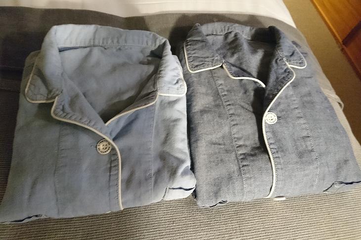 パジャマはU2 SHIMASHOPで購入可能。タオルは今治タオル