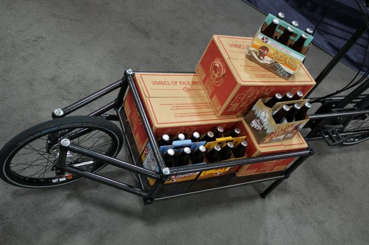 ユニークなカーゴバイク