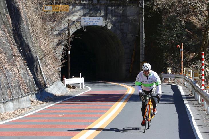中山トンネルを抜けると小河内ダムはすぐそこです。