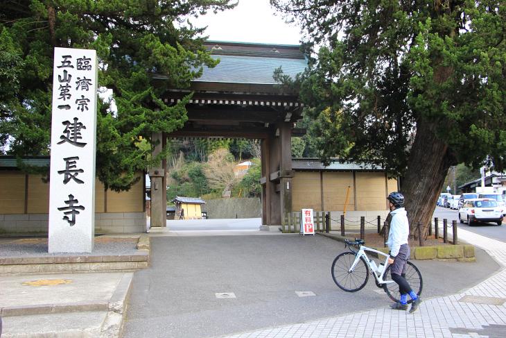 鎌倉五山・第一位の建長寺。現在も坐禅文化を支える寺だ