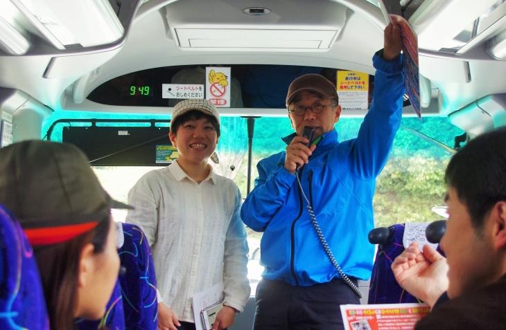 シルベストサイクルの山崎統括店長と渕上店長による自転車講座も