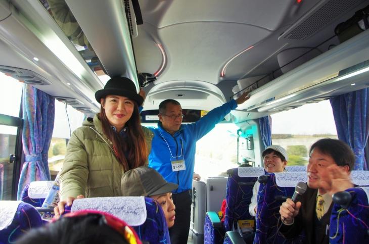 台湾から参加した陳松筠さん。日本全国を旅行しているという
