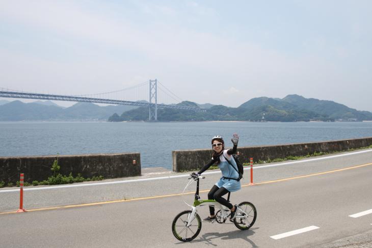 しまなみ海道の美しい景色を堪能できるイベントだ