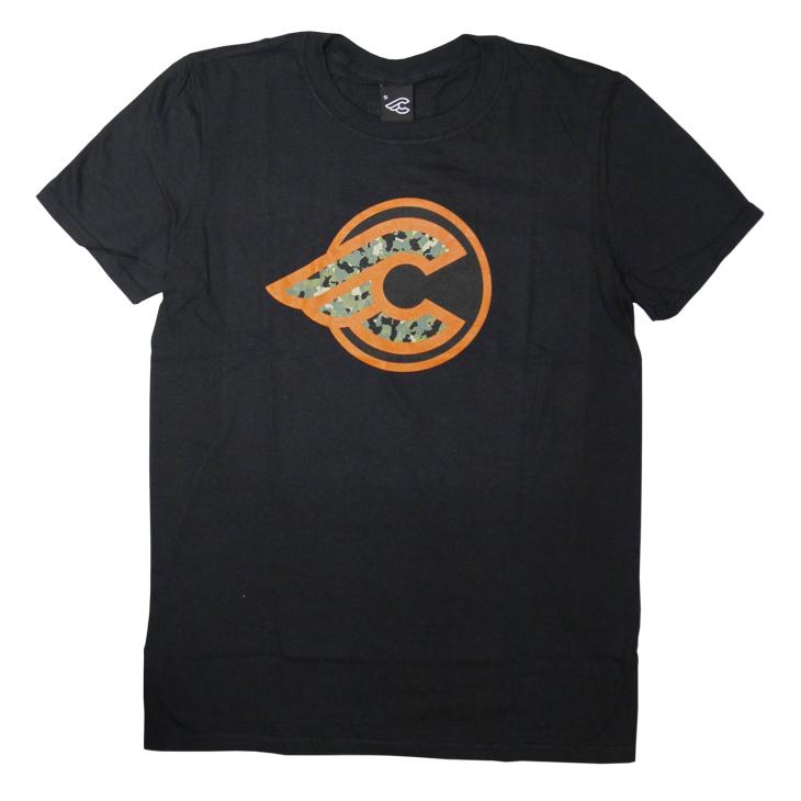 チネリ WINGED コルクリボン カモフラージュ Tシャツ
