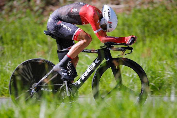ステージ4位・23秒差 アルベルト・コンタドール(スペイン、トレック・セガフレード)