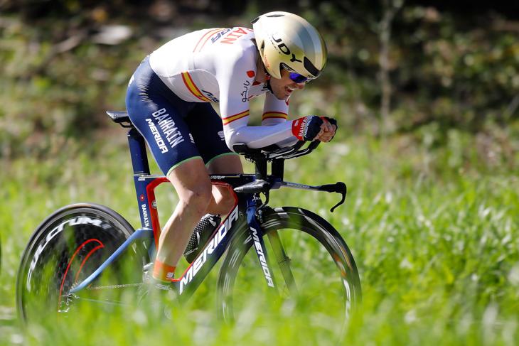 ステージ3位・15秒差 ホン・イサギレ(スペイン、バーレーン・メリダ)