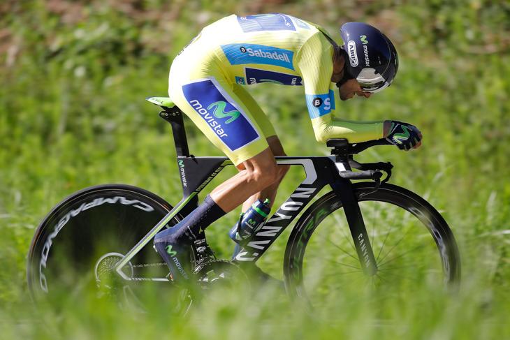 ステージ2位・9秒差 アレハンドロ・バルベルデ(スペイン、モビスター)
