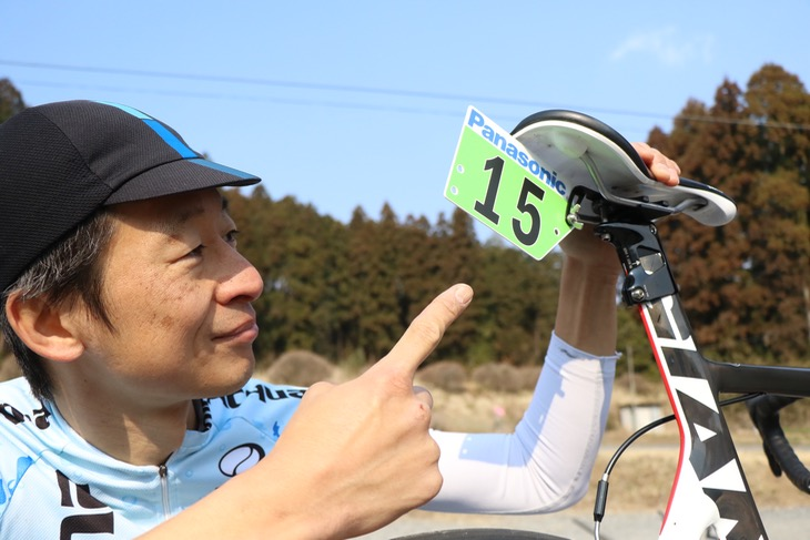 合田選手:「なかなかスマートでカッコイイでしょ?」