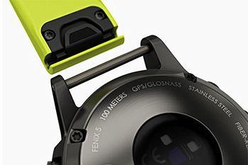 ワンタッチで脱着を行えるベルトを採用しているため、シチュエーションに合わせた交換も可能だ