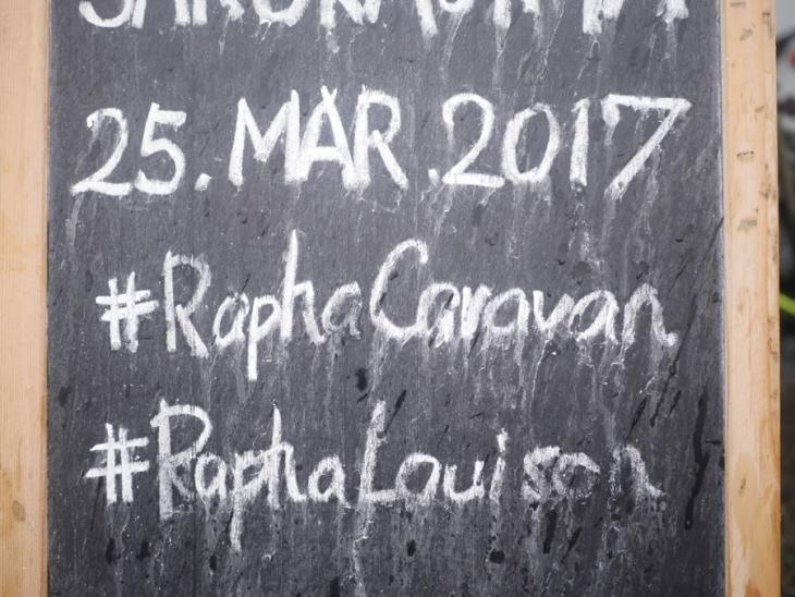 3月25日の桜島ライドを皮切りにラファ・キャラバンがスタート