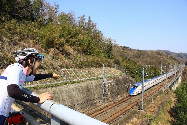 北陸新幹線の最新車両E7系が行ってしまう!